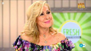Rosa Benito, en 'shock', tras la llamada en directo de Amador Mohedano a 'Ya es mediodía'/Telecinco
