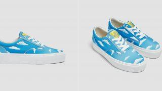 Pull & Bear tiene las zapatillas en homenaje a Los Simpson que todos quieren
