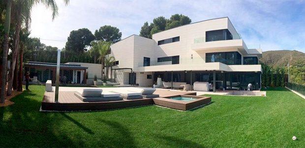 Casa de Messi en Castelldefels / Barcelonacheckin.com