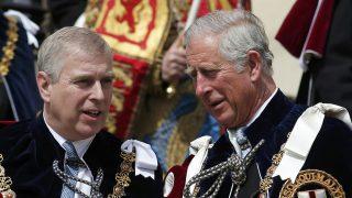 Los príncipes Carlos y Andrés en una imagen de archivo / Gtres