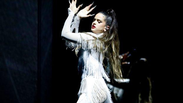 Rosalía, durante un concierto perteneciente a 'El mal querer' / Gtres