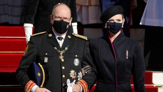 Charlene y el príncipe Alberto de Mónaco en una imagen de archivo./Gtres