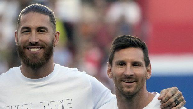 Sergio Ramos y Leo Messi compartirán equipo esta temporada./Gtres