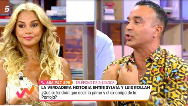 Sylvia Pantoja y Luis Rollán en 'Viva la Vida'./Telecinco