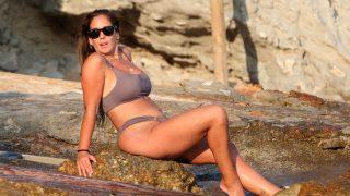 Anabel Pantoja, en una imagen de este mismo verano / Gtres