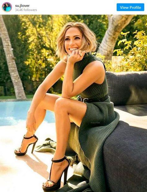 Shein tiene el vestido de Jennifer López en su versión más veraniega por 9 euros