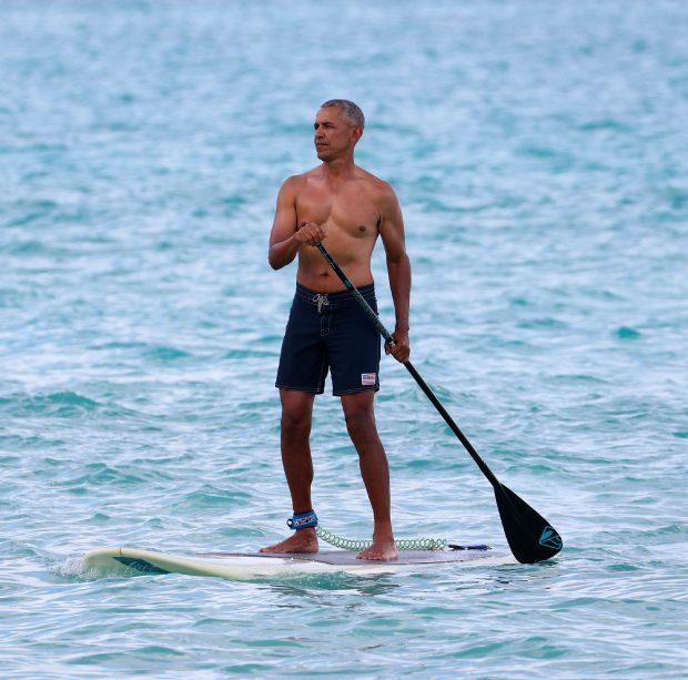Barack Obama, durante sus vacaciones de verano / Gtres