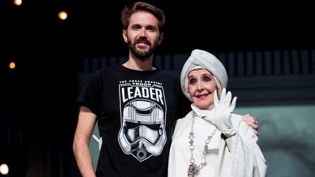 Concha Velasco y su hijo Manuel / Gtres
