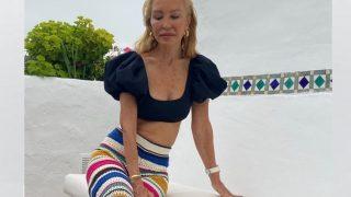 Carmen Lomana arrasa en Instagram con sus pantalones crochet de Zara