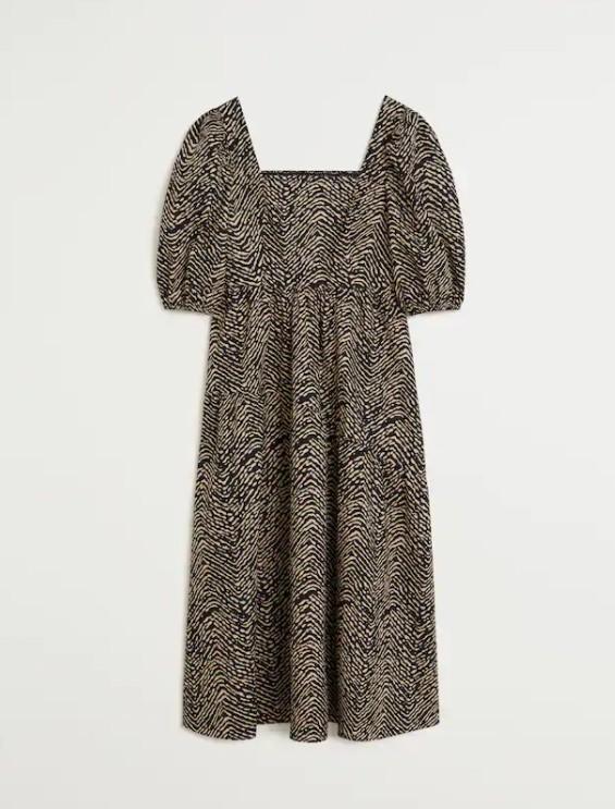 Mango Outlet vuelve a vender el vestido de Letizia con una modificación que parece hecha para Leonor