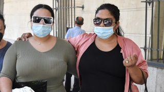 Saray Montoya en los juzgados / Gtres