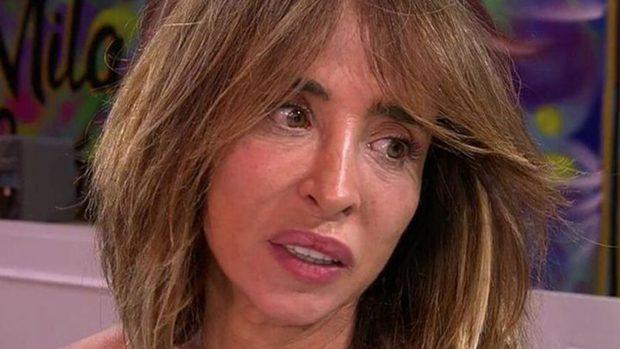María Patiño toca fondo en 'Sálvame' al ver el resultado de su test de inteligencia./Telecinco