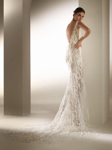 colas vestidos de novia