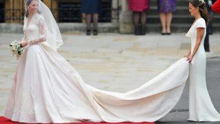 Descubre los distintos tipos de cola para los vestidos de novia