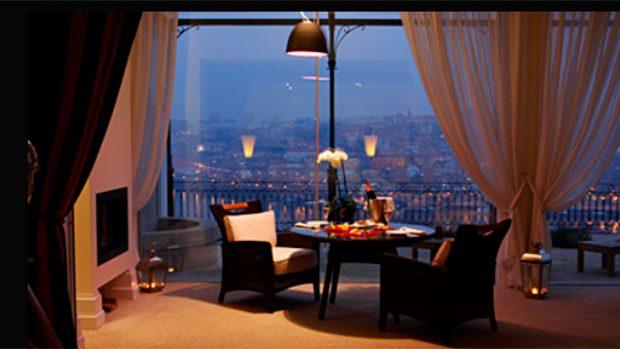 En una de estas suites podrían haberse alojado María Pedraza y Álex González en su escapada romántica a Oporto / The Yateman