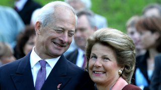 La Princesa Marie con su marido el príncipe Hans Adam / Gtres