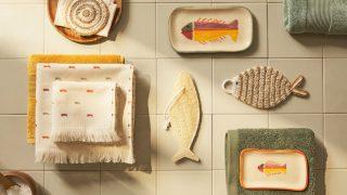Zara Home inunda tu baño de peces y de color en su increíble nueva colección