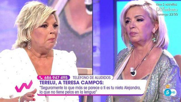 Carmen Borrego y Terelu Campos/Telecinco