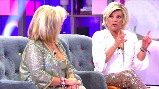 Terelu Campos se ha sincerado con su hermana./Telecinco