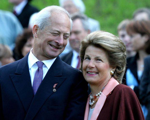 Marie de Liechtenstein y el Principe Hans Adam en una imagen de archivo./Gtres