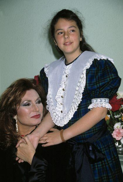 Rocío Jurado y Rocío Carrasco en una imagen de archivo./Gtres