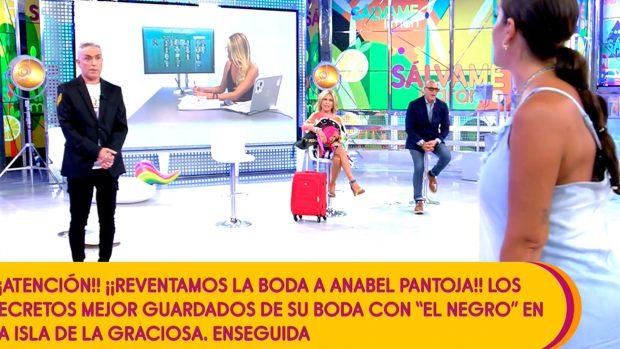 Anabel ha discutido con Kiko Hernández este lunes en 'Sálvame' / Mediaset