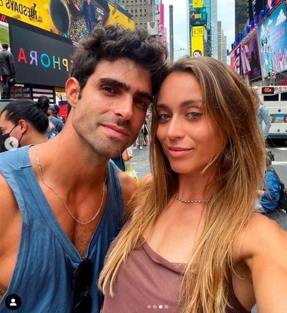 Paula Badosa y Juan Betancourt han publicado su primera imagen juntos / Instagram: @paulabadosa