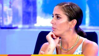 Anabel Pantoja no quedó contenta con su resultado / Telecinco