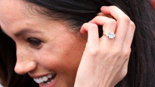 El anillo de pedida de Meghan Markle / Gtres