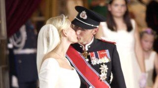 Haakon y Mette Marit el día de su boda / Gtres