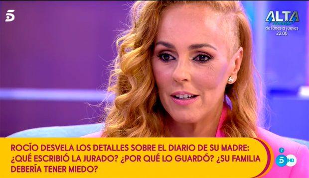 Rocío Carrasco ha regresado a 'Sálvame' tras sus vacaciones / Mediaset