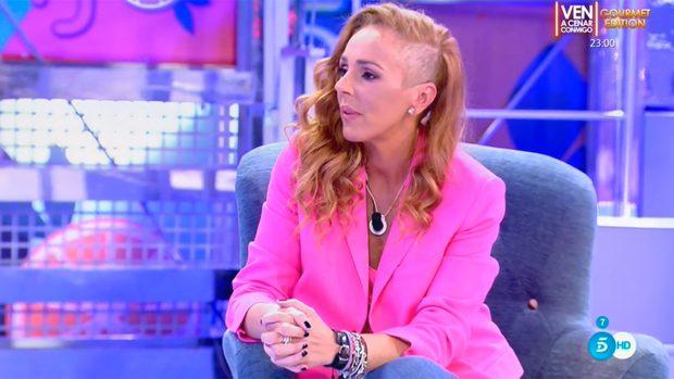 Rocío Carrasco, durante su vuelta a 'Sálvame' / Telecinco
