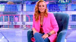 Desde que regresara de su verano a 'Sálvame' no ha vuelto a aparecer por el programa de Telecinco y de eso hace ya un mes / Mediaset