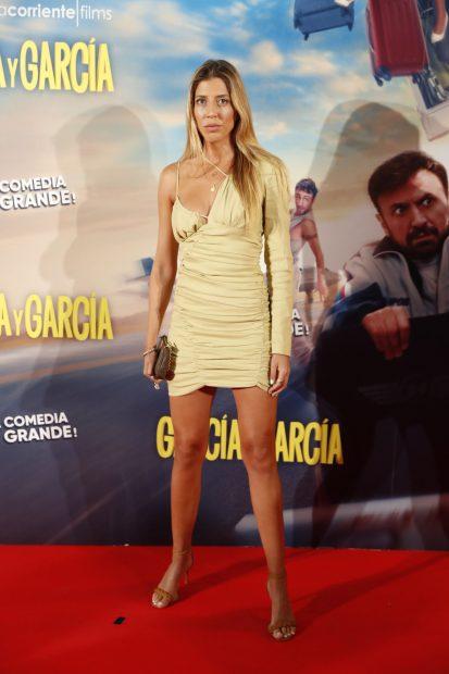 Karelys Rodríguez en la presentación del 'film' 'García y García'./Gtres