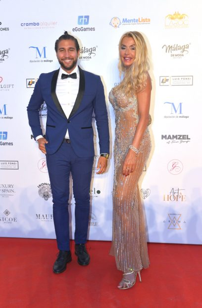 Gianmarco Onestini en la gala Global Gift en Marbella./Gtres