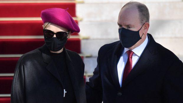 Alberto y Charlene de Mónaco en una imagen de archivo./Gtres