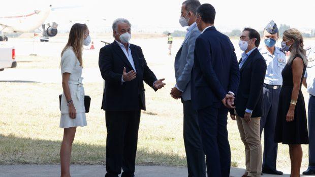 También ha acudido a la cita el presidente del Gobierno, Pedro Sánchez./Gtres