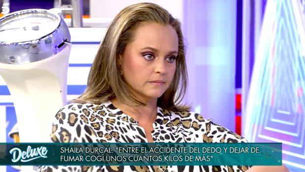 Shaila Dúrcal en 'Viernes Deluxe'./Telecinco