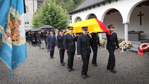 Funeral de estado de Marie de Liechtenstein./Gtres