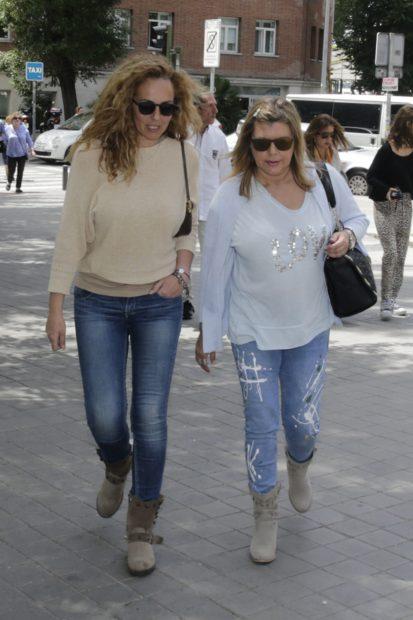 Terelu Campos y Rocío Carrasco en una imagen de archivo./Gtres