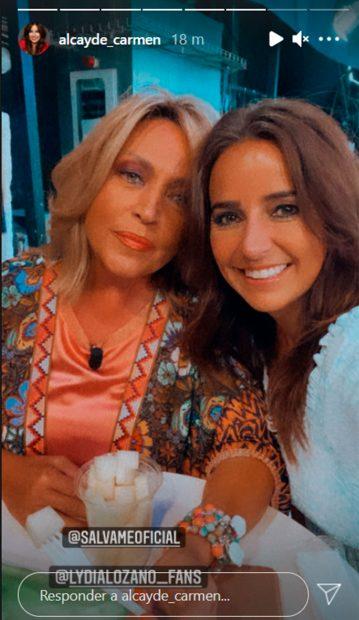 Carmen Alcayde y Lydia Lozano / Gtres