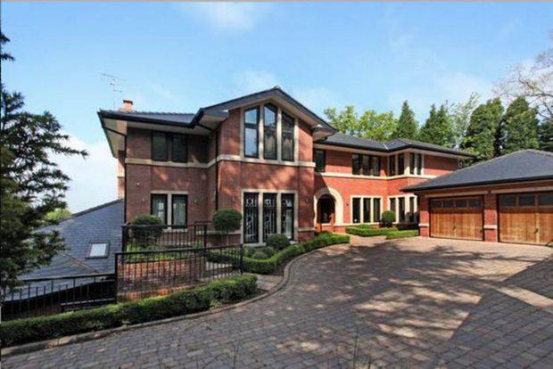 Así era la casa donde vivía Cristiano Ronaldo en Manchester / Gtres