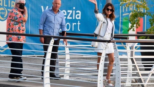 Penélope Cruz, a su llegada a Venecia / Gtres
