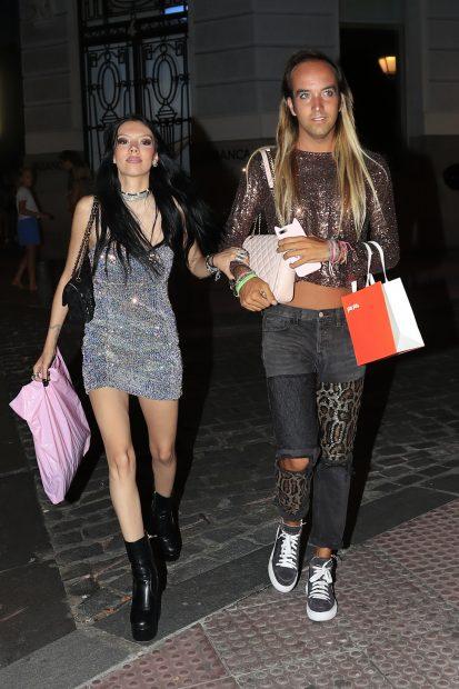 Alejandra Rubio y Aless Gibaja en una imagen de archivo./Gtres