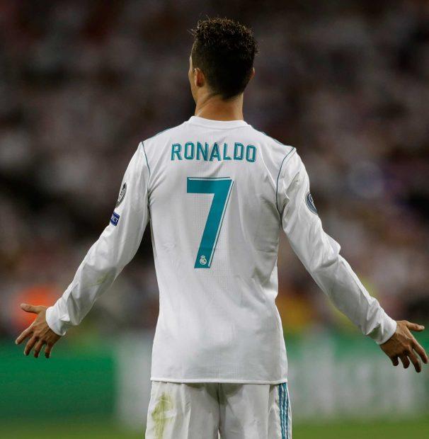 Cristiano Ronaldo, con el 7 en el Real Madrid / Gtres