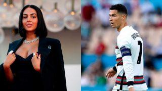 Georgina Rodríguez y Cristiano Ronaldo / Gtres