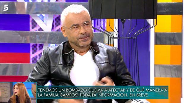 Jorge Javier Vázquez ha regresado de sus vacaciones de verano./Telecinco