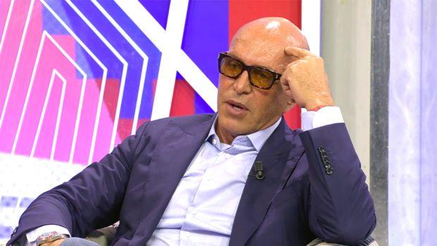 Kiko Matamoros se ha sincerado con Jorge Javier Vázquez./Telecinco