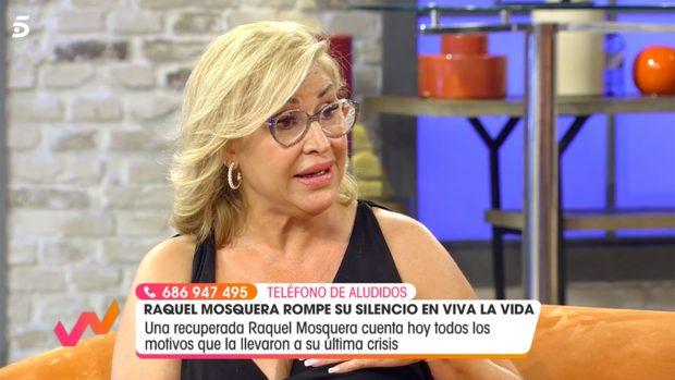 Raquel Mosquera en 'Viva la Vida'./Telecinco