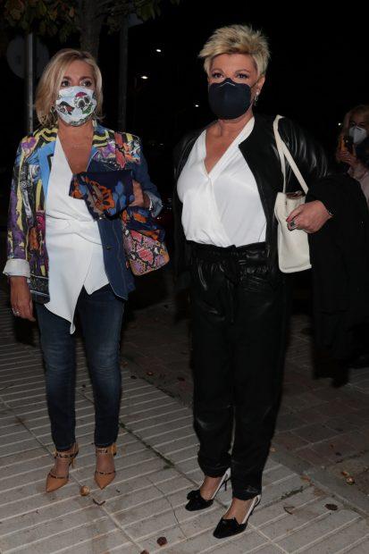 Terelu Campos y Carmen Borrego en una imagen de archivo./Gtres